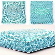 "Indian Ombre Mandala Cotton Cushion Cover 35"" Floor Pillow Case Yoga Pouf Cover"