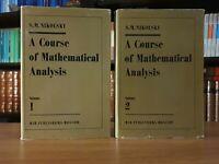 MIR∎Nikolsky➔Mathematical Analysis 1-2 〈matematica┃analisi┃calculus┃edizioni┃EN〉