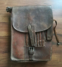 WW2 Vintage Germany Luftwaffe Officer M35 Leather Case for Maps,Documents & Pens