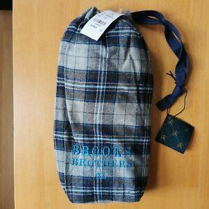 Brooks Brothers Men's Cotton Pyjama Trousers Gift Bag - XL