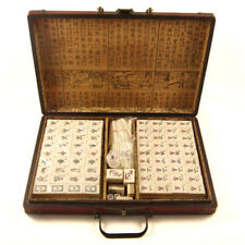 Mahjong Set Traditional Chinese BAMBOO TILES 152 Tiles Mah Jong NEW UK