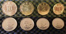 SET Circulated Coin Ukraine 10 5 2 1 Hryven UAH UNC