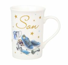 Son Design & Special Message A Gift With Love Fine China Gift Mug