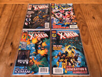 Marvel Comics X-Men Collector's Edition Comic Books - Issue #61 #62 #63 #64