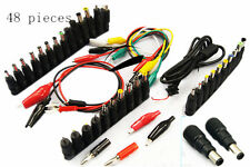 48 in 1 Universal Laptop AC DC Jack Power Supply Adapter Connector Plug