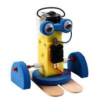 DIY Robot Toy Technological Making Materials Model Educational Child Gift #gib
