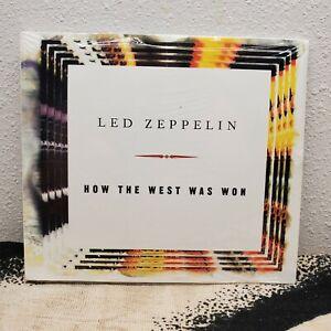 Led Zeppelin How the West Was Won DJ PROMO Advanced CD SEALED MINT Atlantic USA