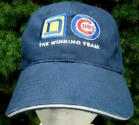 Chicago Cubs & Square D Electric Logo The Winning Team Strapback Hat Cap MLB