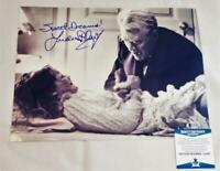 LINDA BLAIR REGAN SIGNED METALLIC 11X14 PHOTO THE EXORCIST BECKETT COA 492