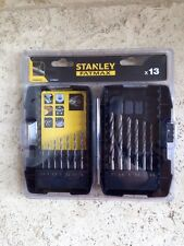 Stanley FatMax x13 Piece Drill Pack STA88100   +++Brand New+++
