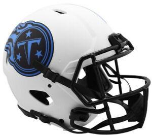 Tennessee Titans NFL Riddell Lunar Eclipse Alternate Speed FS Rep Helmet - NEW