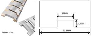 Tungsten steel men women Bracelet Band strap (compatible with) RADO JUBILE 6020g