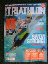 220 TRIATHLON SWIM BIKE & RUNNING MAGAZINE, MARCH 2018, DUATHLON, IRONMAN