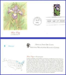 USA5 #2663 U/A FLEETWOOD FDC   Blue Flag Wildflower