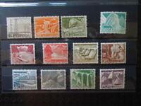 G1048  SWITZERLAND 1949  LANDSCAPES MI  529-40  MNH  532 THIN