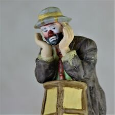 "Emmett Kelly Jr. Vintage Flambro Clown Figurine Collection, ""Why Me?"""