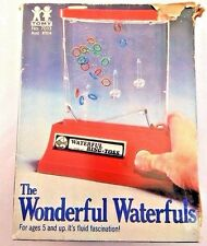 TOMY Waterful Ring Toss Red Wonderful Waterfuls Toy Game 1976 with Original Box
