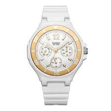 Casio LRW250H-9A1 Ladies White & Gold Sports Watch 100M