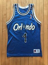 Vintage Champion Orlando Magic Penny Hardaway Jersey #1 Size 40 NBA Basketball
