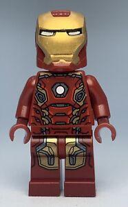 Lego Superheroes IRON MAN - MARK 45 ARMOR Minifigure sh164 FAST SHIPPING!