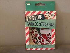 NPW festive Fabric Stickers Christmas Jumper