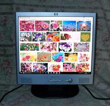 """MONITOR LCD 17"""" HP PAVILLION F1723 P/N P9623A PE1231 CON DIFETTO"""