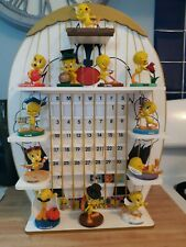 2000 Goebel Tweety Calendar Figurines The Danbury Mint Warner Bros