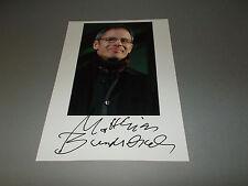 Matthias Bundschuh  signiert signed autograph Autogramm auf 20x28 Foto in person