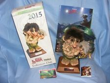 Ny Form Nyform Trolls 2015 Club Set Norway Collectable Norwegian Limited Edition