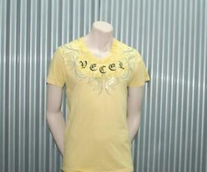 Ve'cel Vintage T-Shirt Yellow Chester Bennington Linkin Park Vecel XL