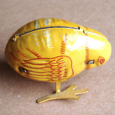 Vintage Tin Litho Haji Wind Up Chick Japan – Works