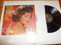 CONNIE FRANCIS - Never On Sunday - 1961 US 12-track Vinyl LP