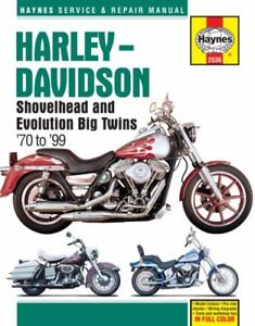 1970-1999 Harley Davidson Electra Tour Glide Dyna Softail HAYNES REPAIR MANUAL