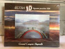 Ultra 3D Jigsaw Puzzles 504 Grand Canyon Skywalk