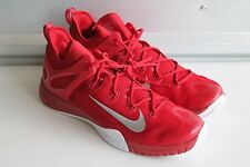 MEN'S NIKE ZOOM 2015 HYPERREV BASKETBALL BURGUNDY RED 742247-606 SIZE 18