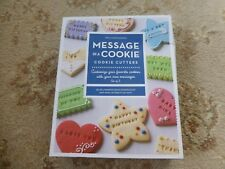 Williams Sonoma Message In A Cookie Cookie/Biscuit Cutters Set Of 3