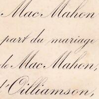 Marie Eudoxie De Mac Mahon 1878 Joseph D'Oilliamson