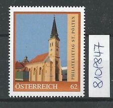 Österreich PM personalisierte Marke Philatelietag St. PÖLTEN am 08 04 2014 **