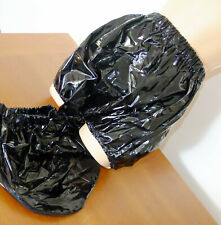 PVC-U-Like PVC Muff Pants Knickers BDSM Roleplay Panties Black Plastic M Shiny