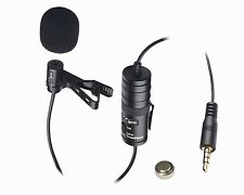 Vidpro Lavalier Condenser XM-L Microphone for Camcorder, Video, DSLR