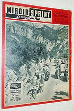 MIROIR SPRINT N°579 B 1957 CYCLISME TOUR FRANCE STABLINSKI ANQUETIL ROHRBACH
