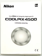NIKON COOLPIX 4500 MANUAL, SPANISH