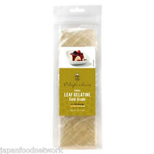 Leaf Gelatine Gelatine Sheets Gold Grade 24g