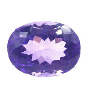 Cts. 10.10 Natural Untreated Brazil Amethyst Oval Cut Loose Gemstone