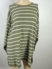 Markenlose gestreifte Herren-Pullover & -Strickware aus Baumwolle