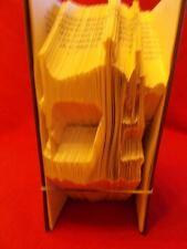 Sewing Machine Folded Book Art Folding PATTERN ONLY #123