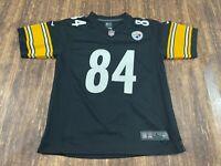 Antonio Brown Pittsburgh Steelers Nike Black NFL Football Jersey - Youth Large
