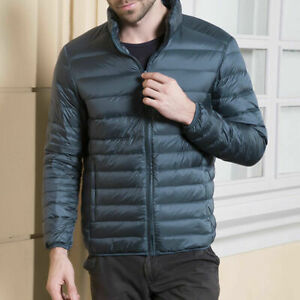 Men's Duck Down Down Jacket Autumn and Winter Light Thin Down Jacket Men's Top