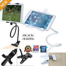 Flexible 360 Lazy Bed Desk Stand Holder Mount iPad Air Mini Samsung Tablet White