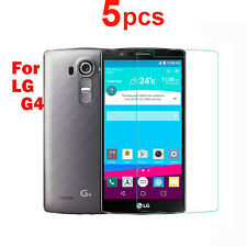 5 X New LCD Clear Front Screen Protector Shield Film Guard For LG G4 Cell Phone